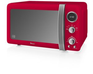 best swan red microwave