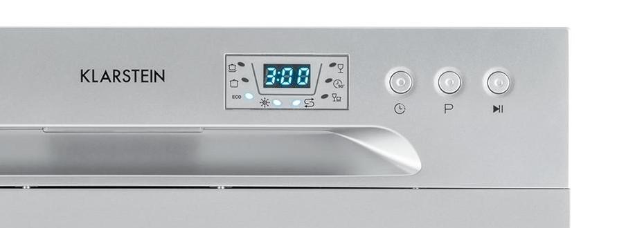 Klarstein Amazonia 6 Dishwasher - Close-Up Panel