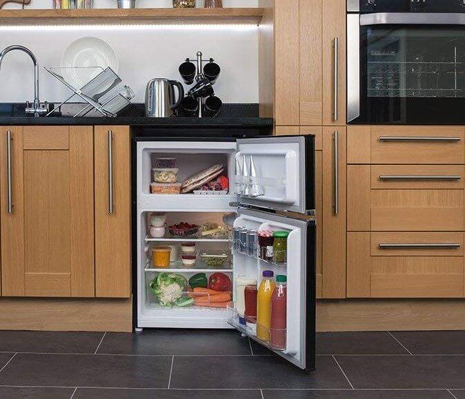 Russell Hobbs RHUCFF50B Under Counter Fridge Freezer