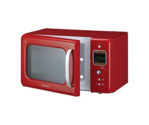 retro red microwave