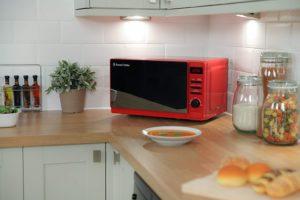 russell hobbs red microwave