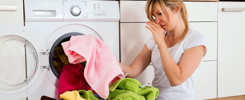 how to cure a smelly washing machine
