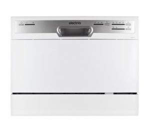 electriQ 6-Place Freestanding Table Top Dishwasher