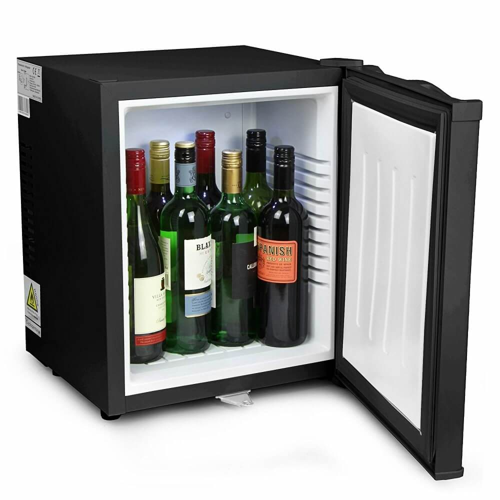 ChillQuiet Silent Mini Fridge - Inside without shelf