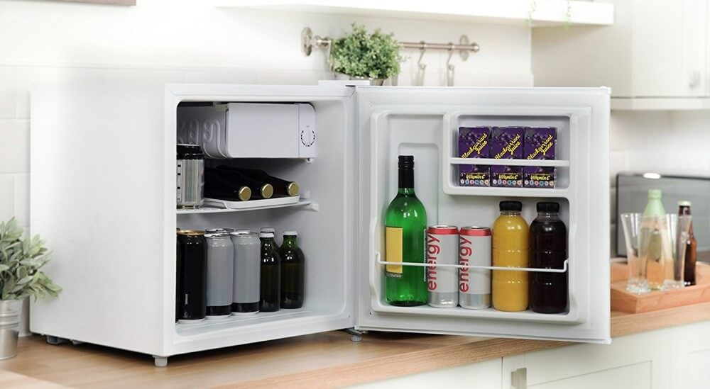 Cookology Table Top Mini Fridge - Inside