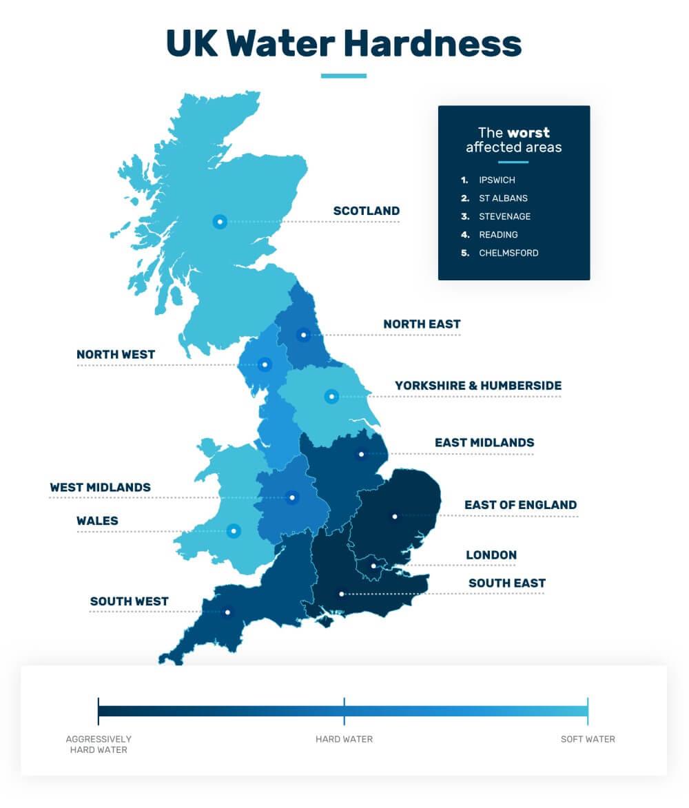 UK Water Hardness