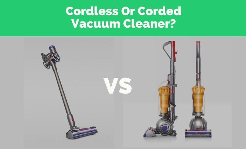 Cordless vs Corded Vacuum Cleaners - Hero