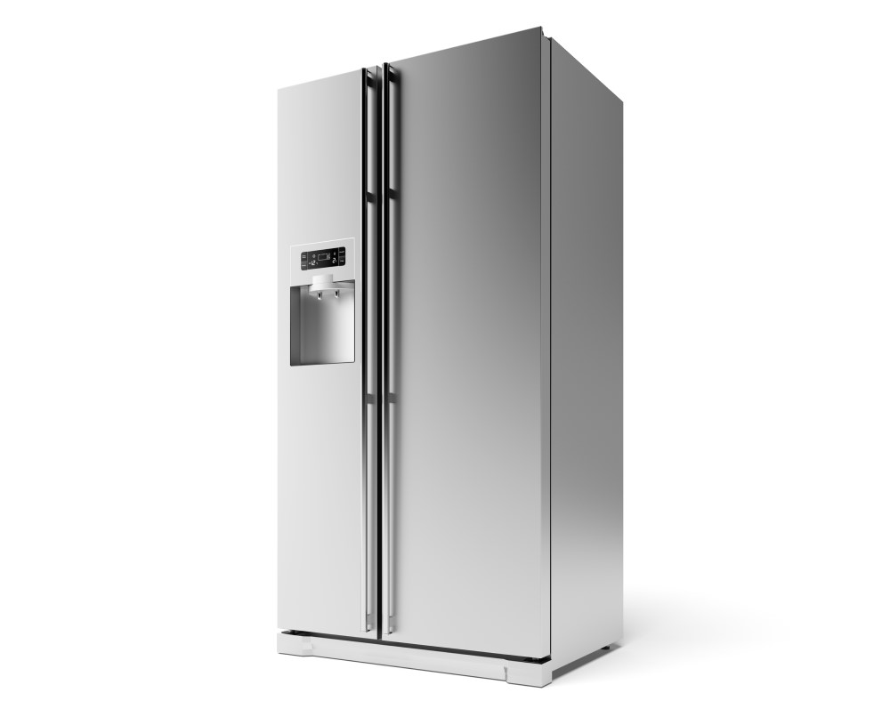 American-style fridge
