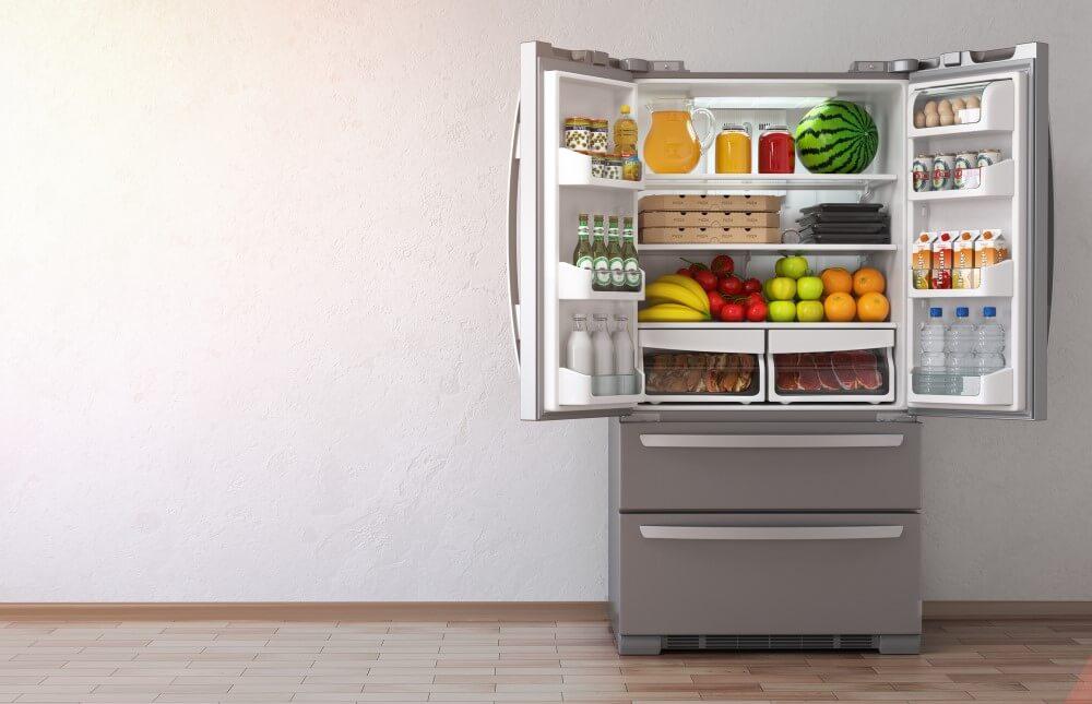 French style fridge