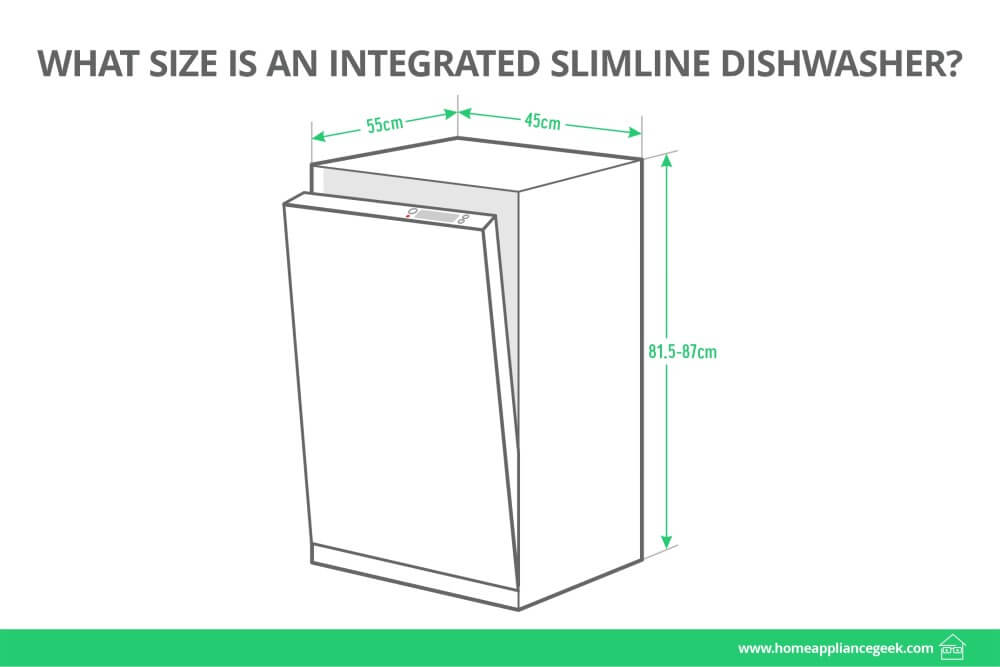 What Size Is An Integrated Slimline Dishwasher